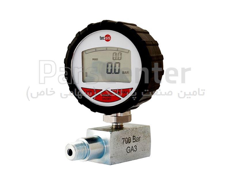 گیج فشار 700 بار (دیجیتال)