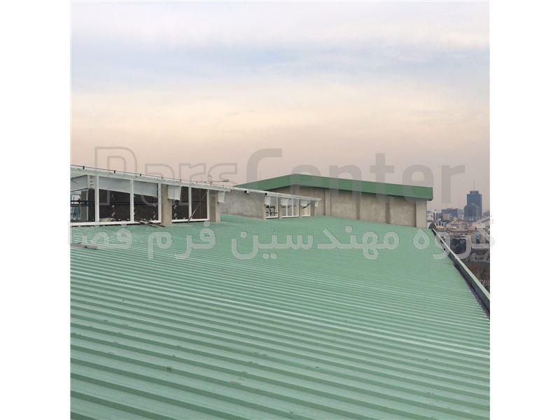 طراحی و نصب پوشش دیواری و سقفی ساندویچ پانل