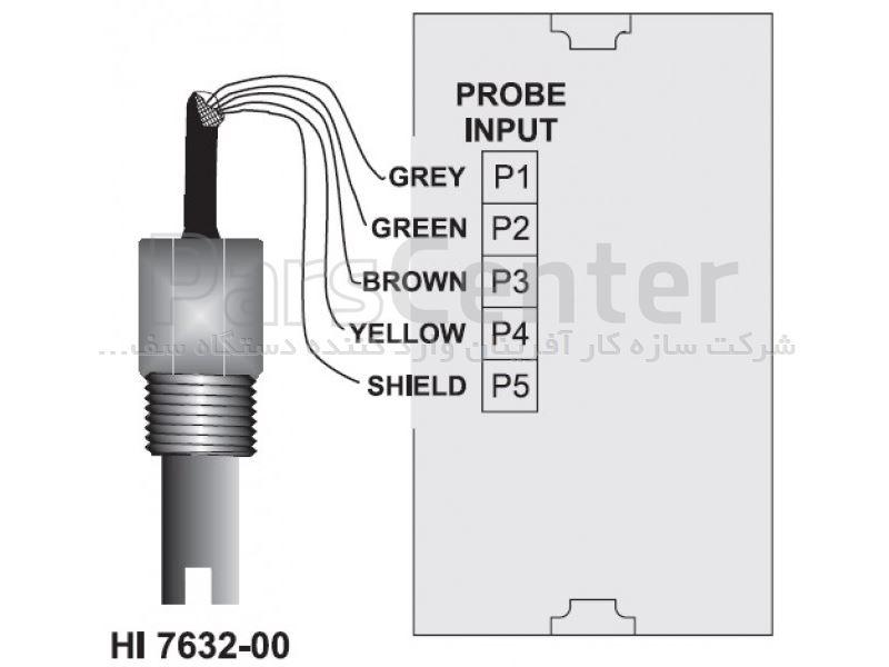 الکترود هدایت سنج مدل HI7632-00 هانا و EC Probe for minicontrolles HI7632-00 hanna
