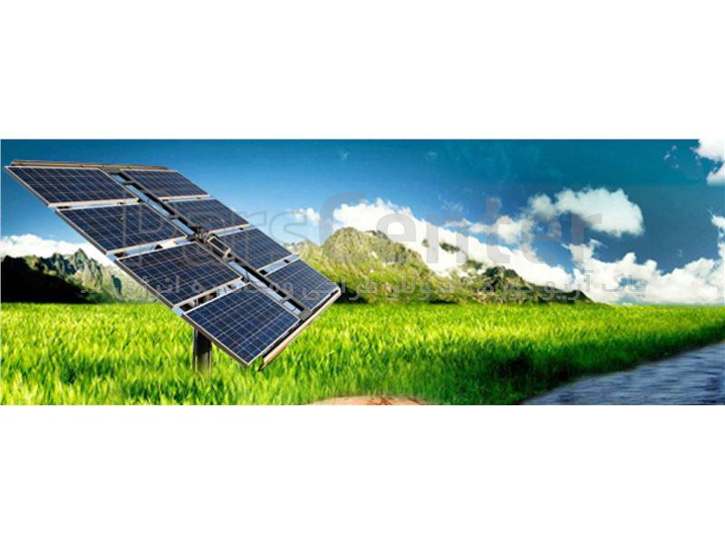پمپ آب خورشیدی سه فاز(9.2کیلووات 12.5اسب بخار)2/5اینچ 123متر عمق آبدهی 8متر مکعب درساعت(همراه پنل)