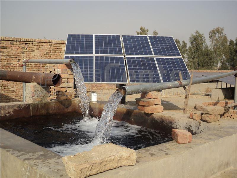 پمپ خورشیدی 1 اینچ 90 متری