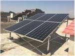 نصب  نیروگاه سه کیلو وات در مهرشهر کرج