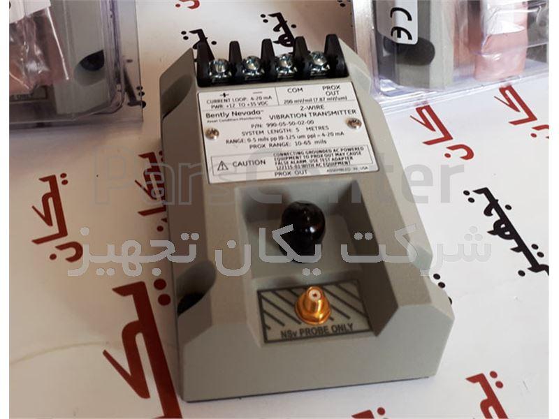 فروش و تامین پراکسیمیتی ترانسمیتر تراست بنتلی نوادا Bently Nevada Thrust Transmitter 990-05-50-02-00