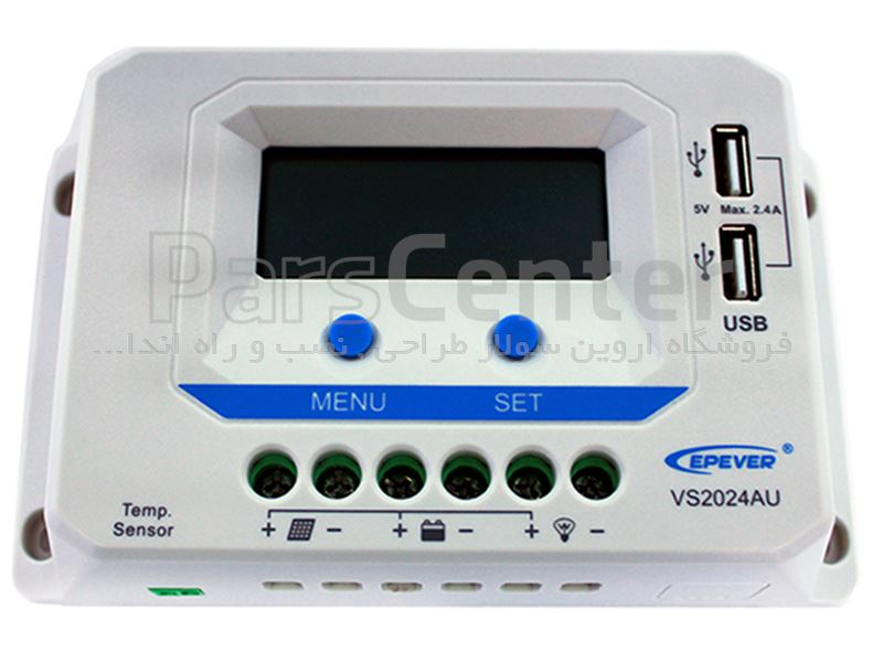 کنترلر خورشیدی 45 آمپر EPEVER - VS4524AU