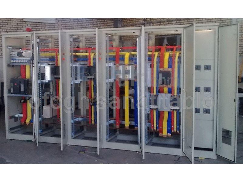 Manufacture and repair of MV low pressure