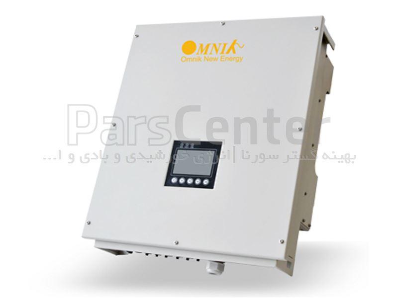 اینورتر خورشیدی 17 کاواسه فاز انگرید متصل به شبکه برقomniksol