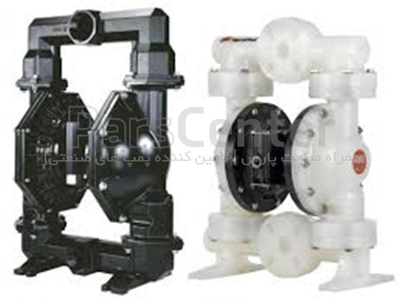 پمپ دیافراگمی هاسکی Pneumatic  Diaphragm  Pump
