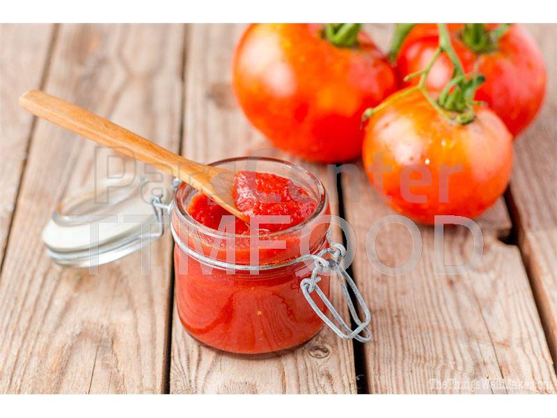 رب گوجه فرنگی در بسته بندی های ساشه، شیشه و قوطی فلزی