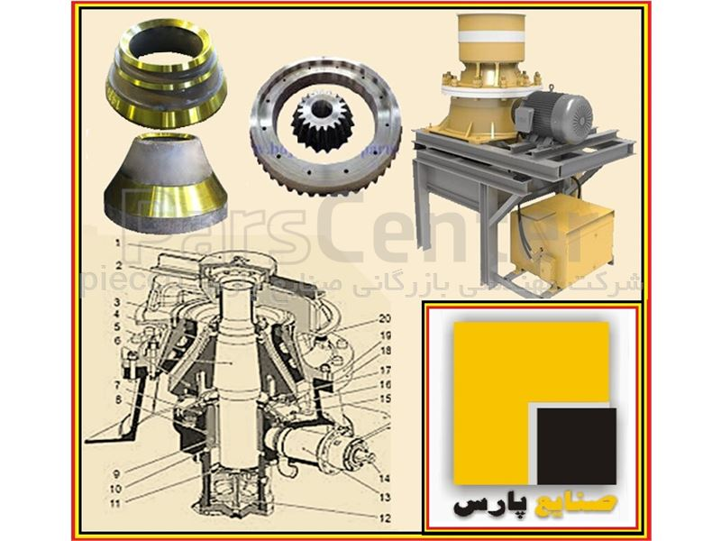 ماسه ساز مخروطی هیدروکن (Hydrocone Crusher)