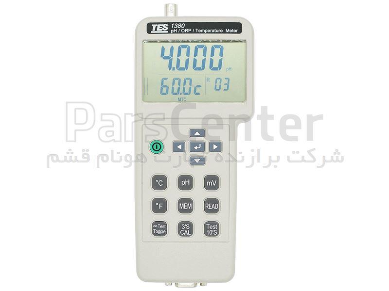 PH متر و ORP متر پرتابل مدل TES-1380 کمپانی TES