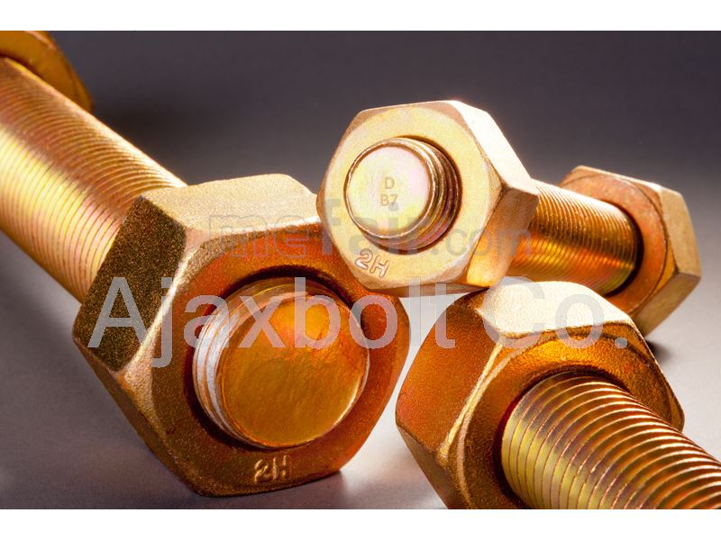 Cadmium Plated bolt and nut