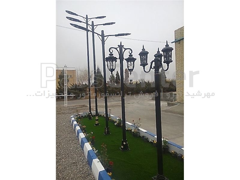 پایه چراغ خیابانی ۸ متری