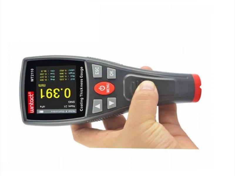 ضخامت سنج رنگ و پوشش مدل WT-2110
