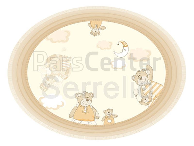 پوستر سقفی ( کاغذ دیواری سقفی ) اتاق کودک خرس های بیم بوم بام
