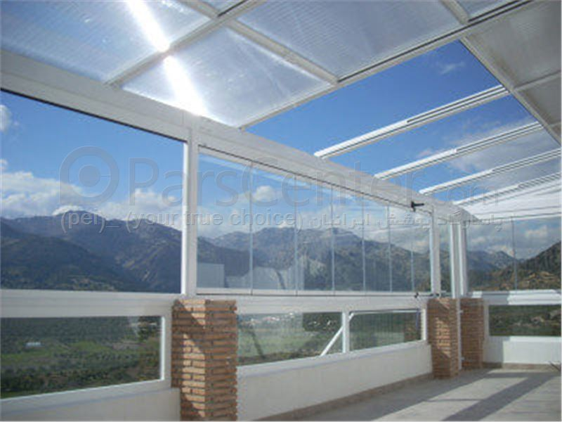 سیتم پوشش بالکن و تراس متحرک Balcony and terrace 52