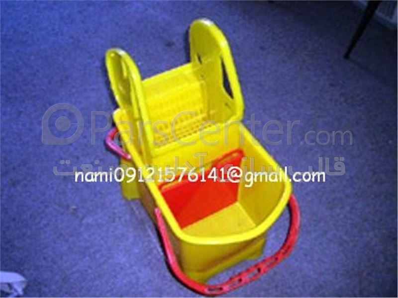ساخت قالب تزریق پلاستیک انواع سطل نظافتی و بهداشتی
