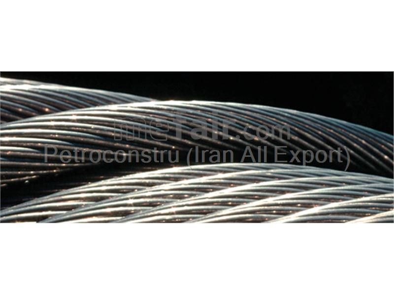 Steel wire rope with IWRC core