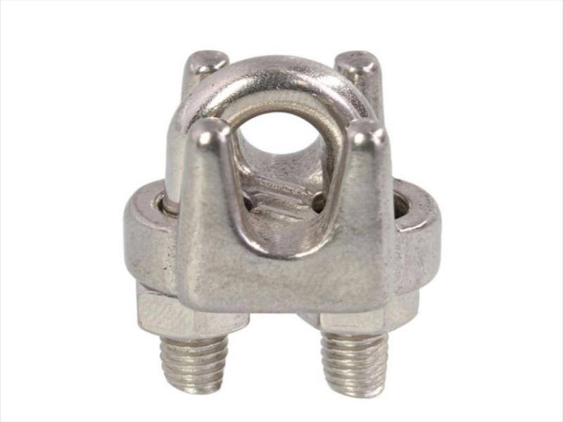 Stainless steel wire rope clip DIN741