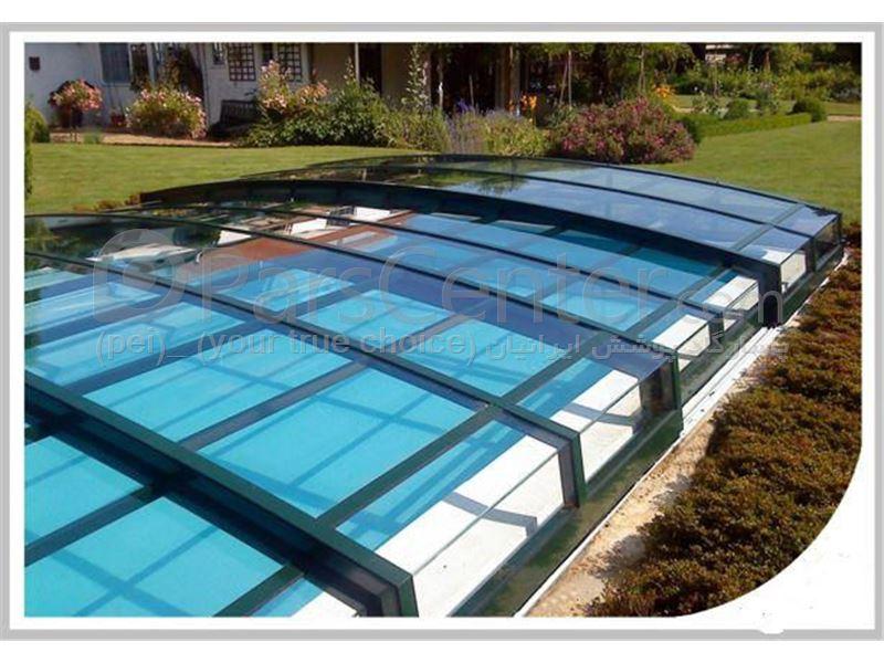 Swimming pool Mini models - پوشش استخر مدل کوتاه