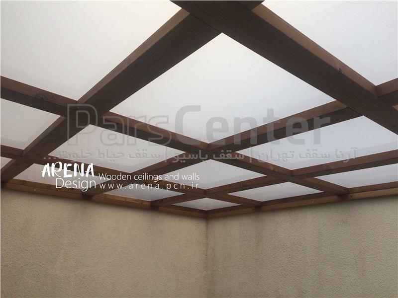 اجرای سقف ترمو وود (دیباجی شمالی-صفا)