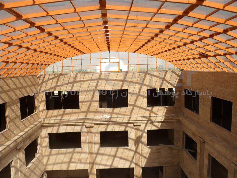 نورگیر بازار مبل ایده ال صنعت پدیده - شهرک صنعتی چهار دانگه