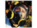 ماسک تنفسی تمام صورت مواد شیمیائی رابر North 5400 Series