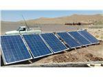 پمپ خورشیدی 111 متری روزکار