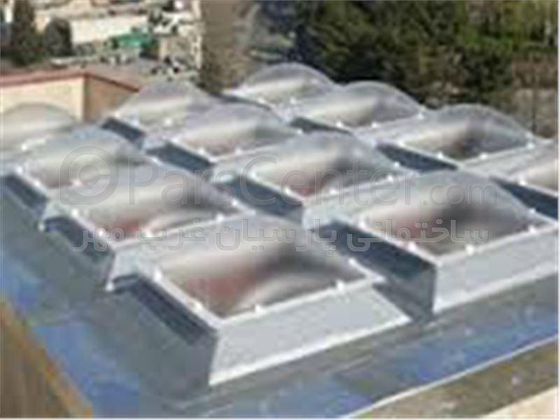 پوشش نورگیر پشت بام