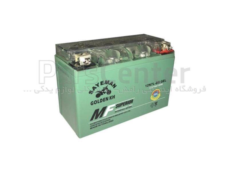باتری اتمی موتور سیکلت 12 ولت 3 آمپر