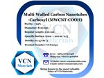 Multi-Walled Carbon Nanotubes-Carboxyl (MWNTs-COOH, +95%, Diameter 8-20 nm, Regular Length 5-10 μm)