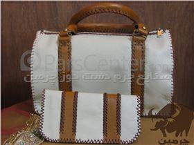 کیف چرمی زنانه ( دست دوز ) کد:114