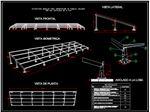 طراحی وساخت انواع استراکچر پنل خورشیدی مدل pa