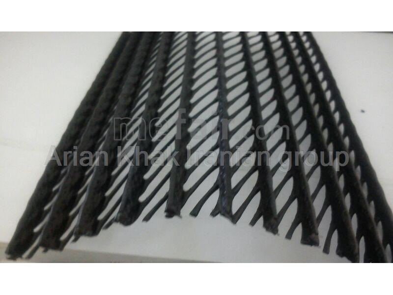 Polyethylene Geogrid used for pipeline protection