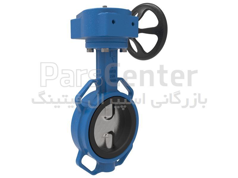 شیر پروانه ای باترفلای ولو  ASTM A182 F5A,F5