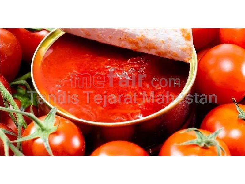 Aseptic Tomato Paste, packed in 220 kg metal drums