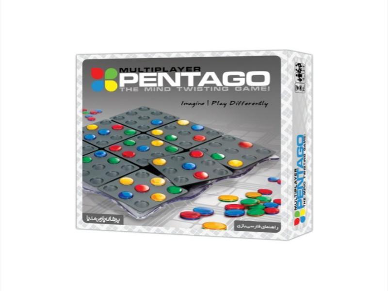 پنتاگو چند نفره | PENTAGO | بازی فکری پنتاگو چهار نفره
