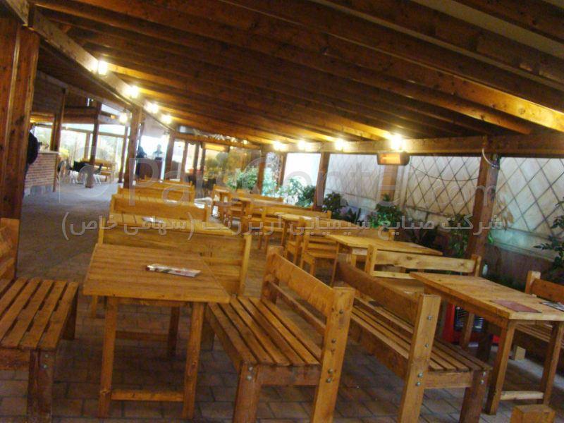 دکوراسیون داخلی ، رستوران های راه چوبی _ شعبه دوم (مازنداران)