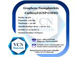 Graphene Nanoplatelets-Carboxyl (GNP-COOH, 99.5%, Diameter 1-20 μm, Thickness Less Than 40 nm)