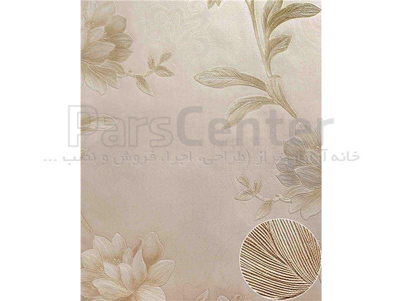 کاغذ دیواری الیافی - اکلیلی - برجسته - براق  فرانسیس 2