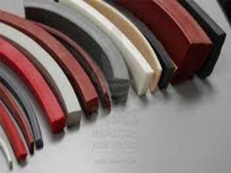 Rectangular silicone tape