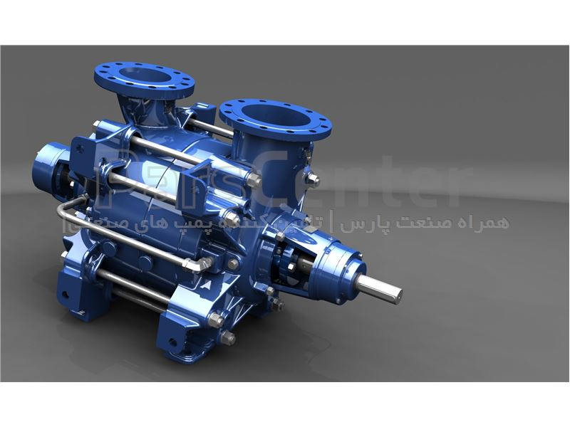 پمپ های طبقاتی افقی و عمودی Multitec ksb pump