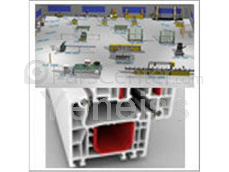 فروش انواع درب و پنجره های upvc  و شیشه های دو جداره