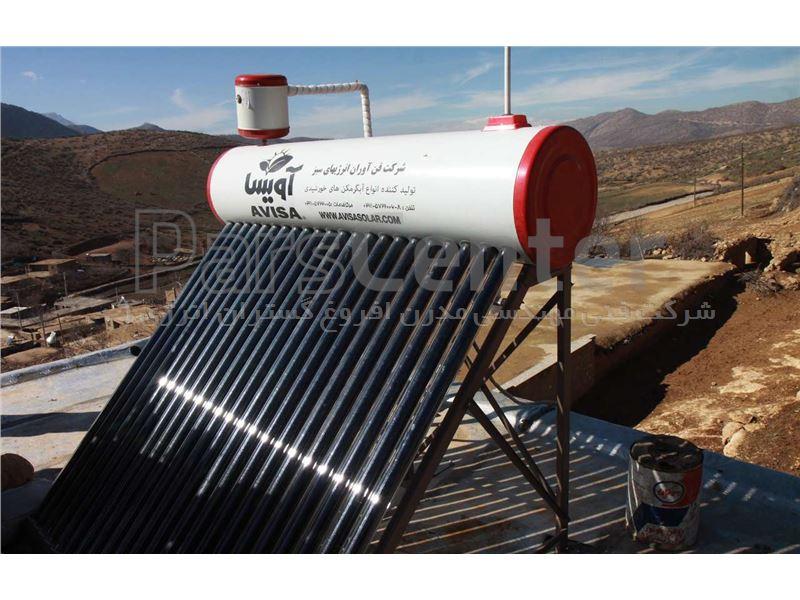 آبگرمکن خورشیدی 180 لیتری هوشمند وکیوم تیوپ