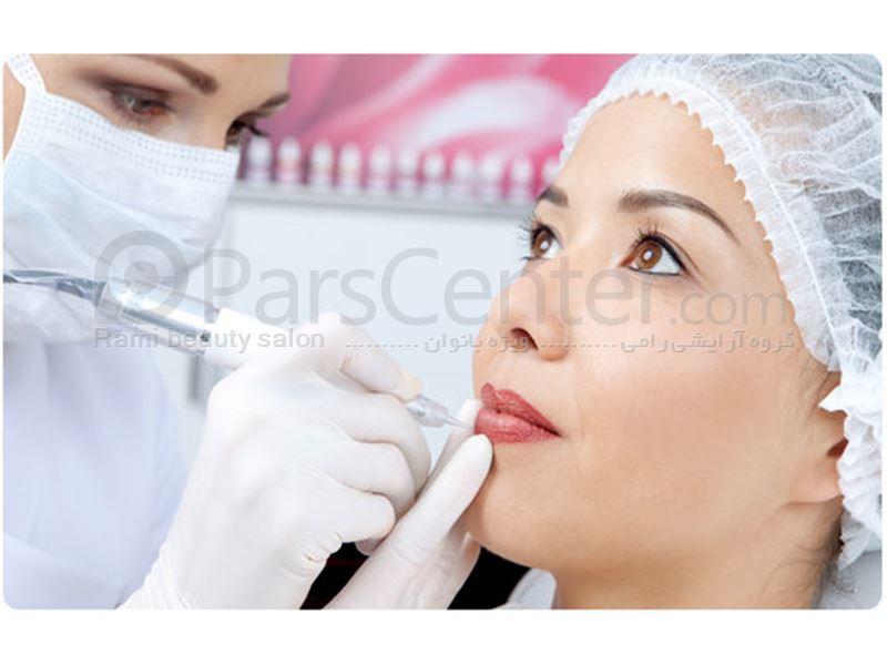 خدمات تــاتــو حرفــه ای  در سالن آرایش رامی میکروپیگمنتیشن
