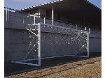 دروازه تمرینی فوتبال متحرک آلومینیومی