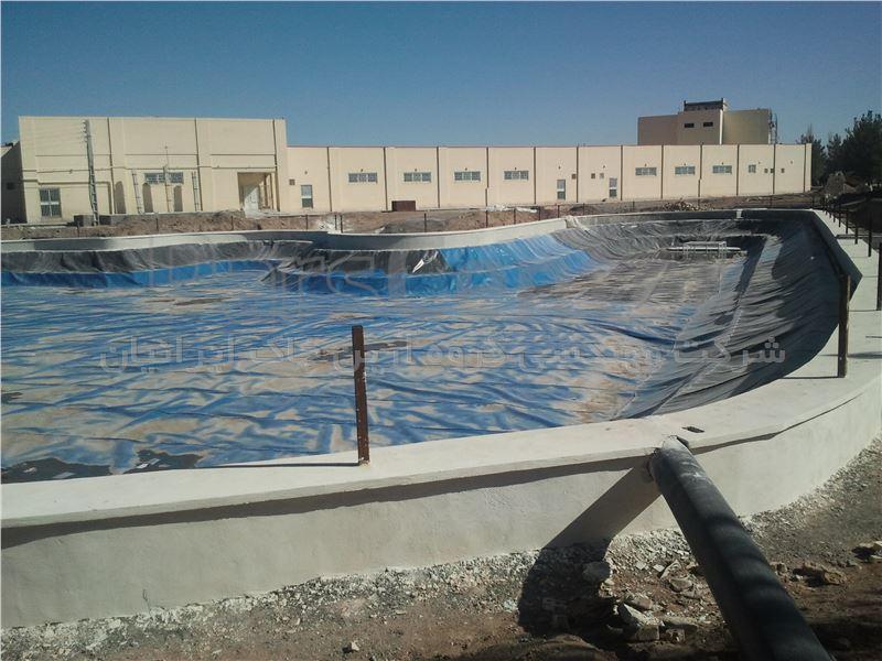 استخر کشاورزی و دریاچه تفریحی دانشگاه رفسنجان