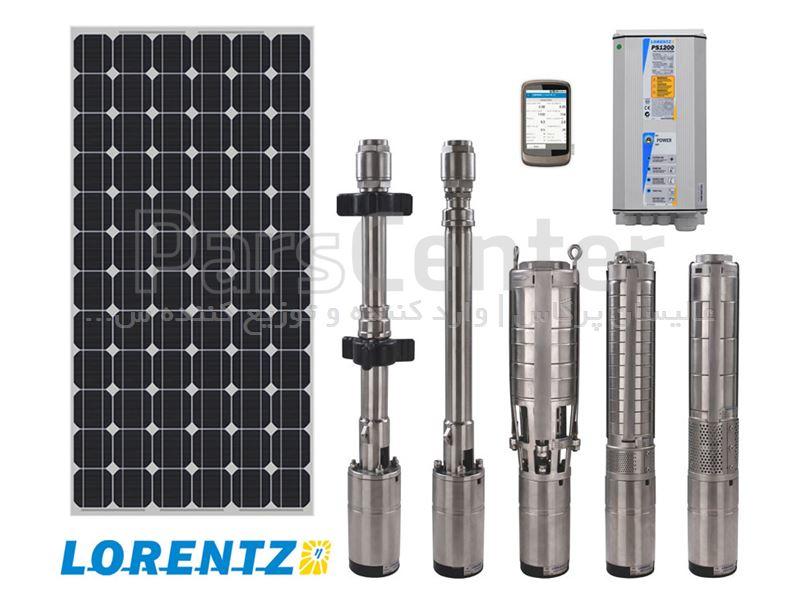 پمپ آب خورشیدی LORENTZ آلمان