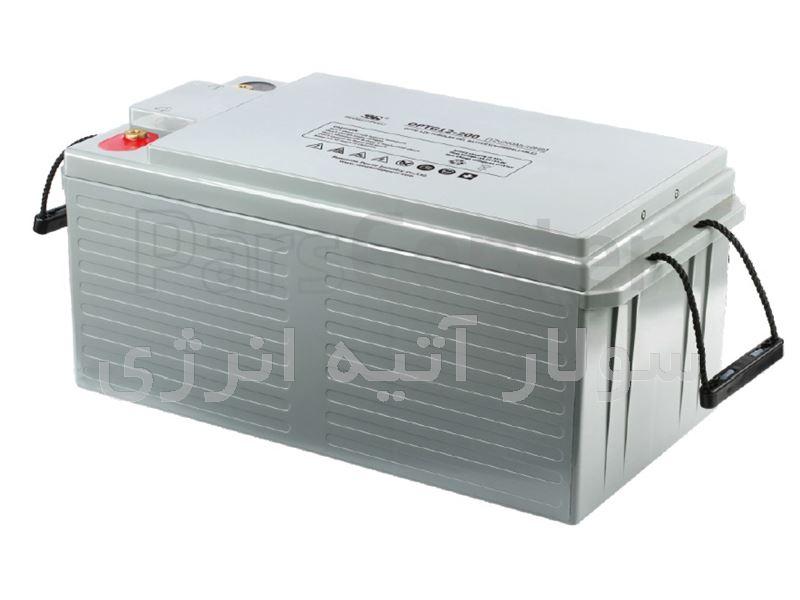باتری ژل 200Ah-12v