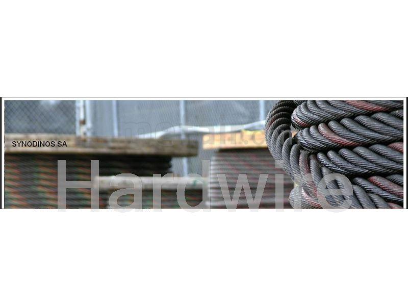 Steel wire rope reel