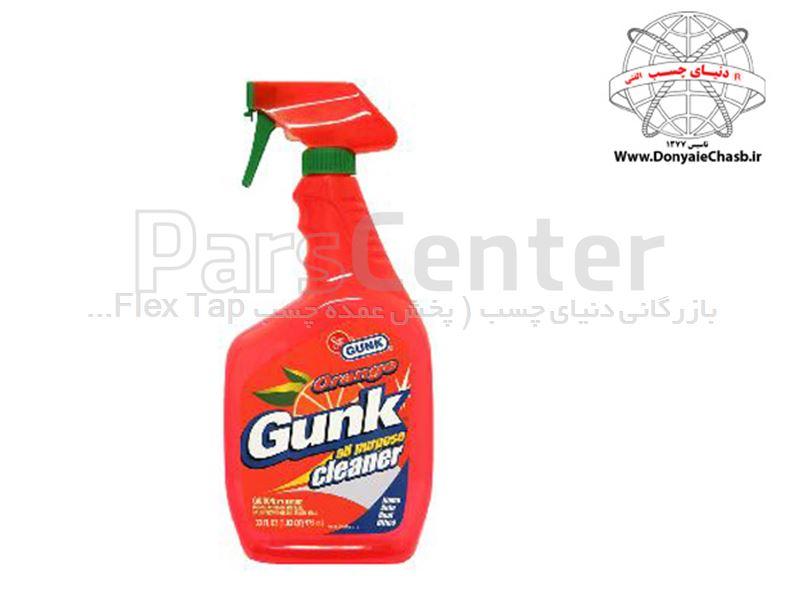 تمیزکننده همه کاره نارنجی گانک GUNK ORANGE CLEANER آمریکا